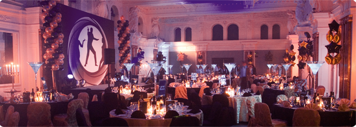Events and parties from Theme Production creative events management