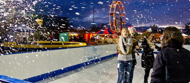 Hire an Ice Rink for your Christmas event