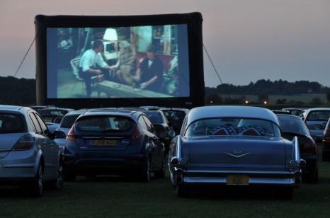 Cinema cark park
